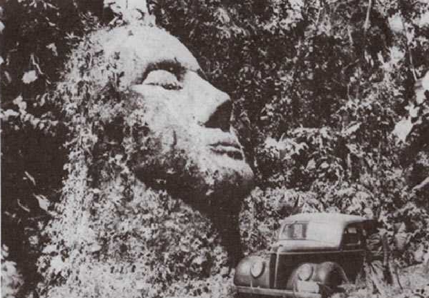 Discover the giant head of Guatemala